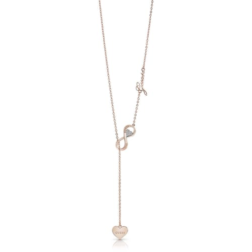 NECKLACE GUESS ENDLESS LOVE - UBN85015