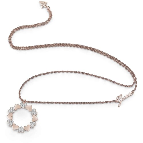 COLLANA GUESS HEART BOUQUET - UBN85049