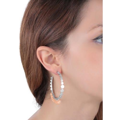 EARRINGS BLUESPIRIT HOOPS - P.62O501000200