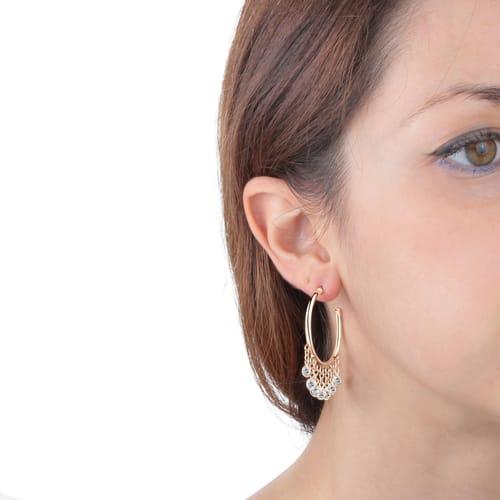 EARRINGS BLUESPIRIT HOOPS - P.62O501000400