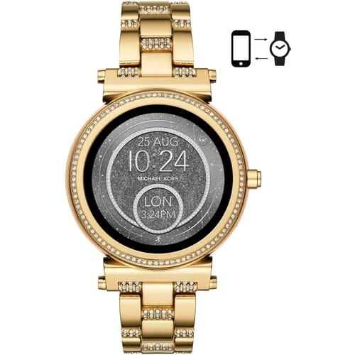 0cbef4ea4f36 Smartwatch Watch for Female Michael Kors MKT5023 2017 Sofie