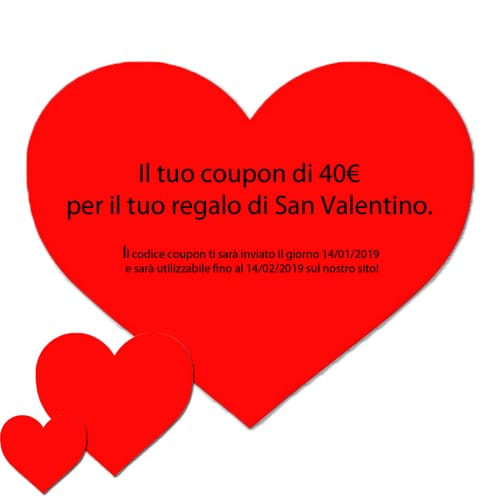 Coupon San Valentino 40€