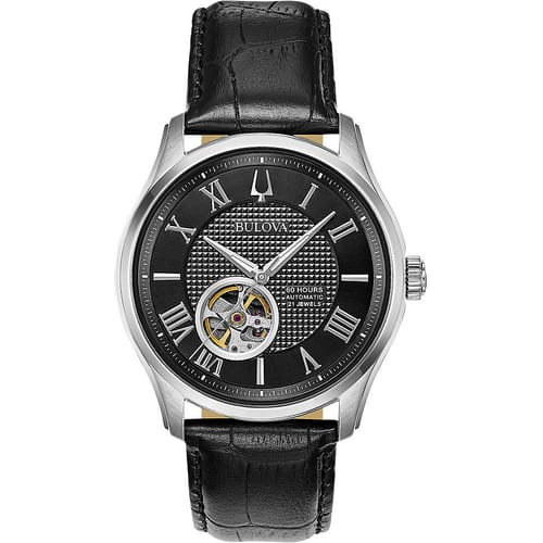 BULOVA watch WILTON AUTOMATIC - 96A217