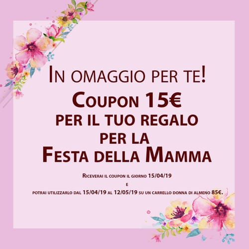 Free Coupon Mother's Day!