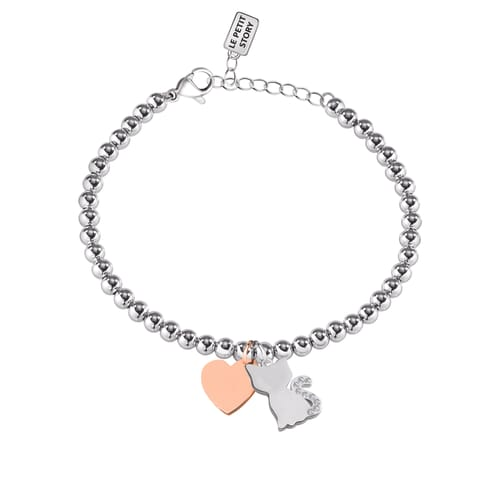 BRACCIALE LA PETITE STORY DOG & KITTY - LPS05AQI09
