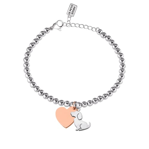 BRACCIALE LA PETITE STORY DOG & KITTY - LPS05AQI02