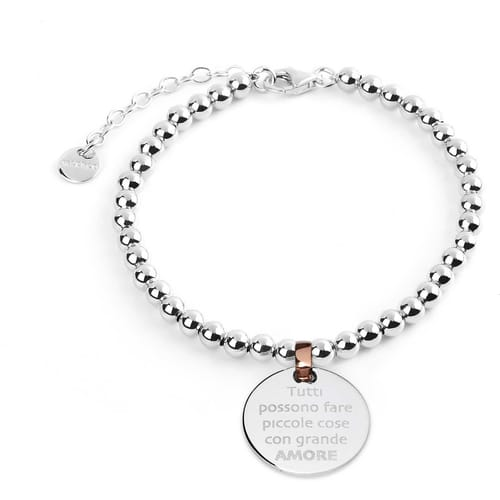 BRACCIALE JACK & CO MESSAGE - JCB1204