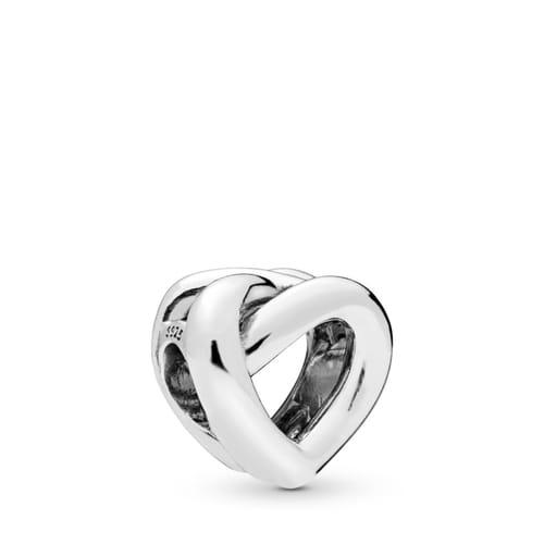 KNOTTED HEART PANDORA CHARM - 798081