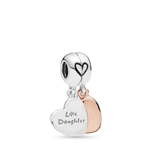 MOTHER AND DAUGHTER LOVE PENDANT PANDORA CHARM - 787783EN16