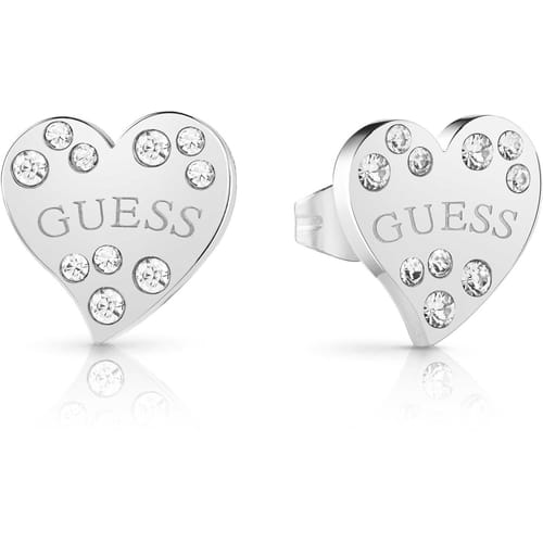 EARRINGS GUESS HEART WARMING - UBE78051