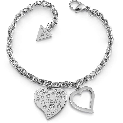 ARM RING GUESS HEART WARMING - UBB78094-S