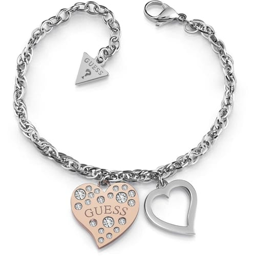 ARM RING GUESS HEART WARMING - UBB78095-S