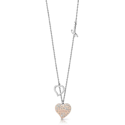 NECKLACE GUESS HEART WARMING - UBN78067