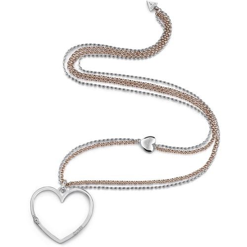 NECKLACE GUESS UNCHAIN MY HEART - UBN78074