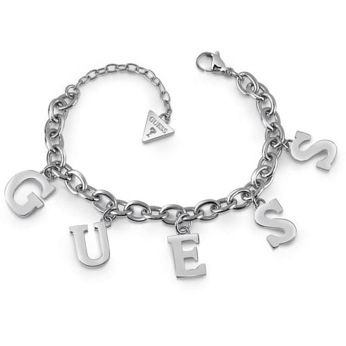 BRACCIALE GUESS FOLLOW MY CHARM - UBB28020-S