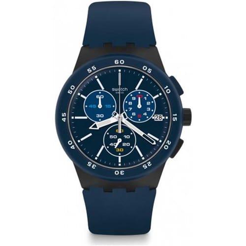 SWATCH watch CHRONO PLASTIC - SUSB417