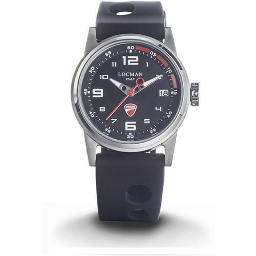 LOCMAN watch DUCATI - D106A01S-00BKRSIK