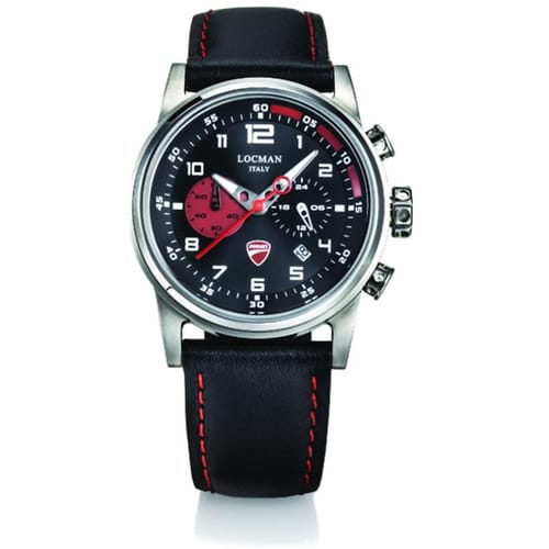 LOCMAN watch DUCATI - D105A01S-00BKRPKR