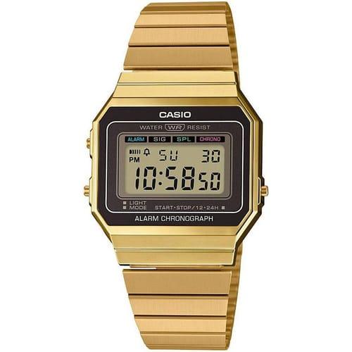 CASIO watch SUPERSLIM - A700WEG-9AEF