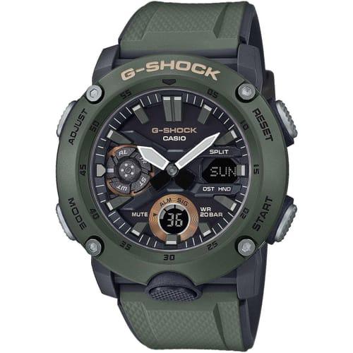 CASIO watch GA-2000 CARBON - GA-2000-3AER
