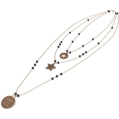 NECKLACE 10 BUONI PROPOSITI CRYSTAL SUMMER - N9830RO/N