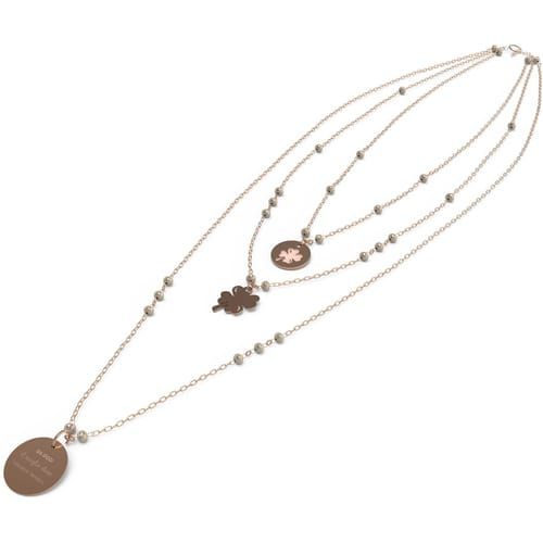 NECKLACE 10 BUONI PROPOSITI CRYSTAL SUMMER - N9813RO/CL
