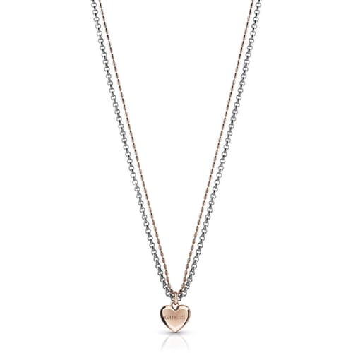 NECKLACE GUESS UNCHAIN MY HEART - UBN78078
