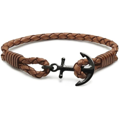 BRACCIALE TOM HOPE LEATHER - TM0253
