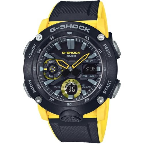 CASIO watch GA-2000 CARBON - GA-2000-1A9ER