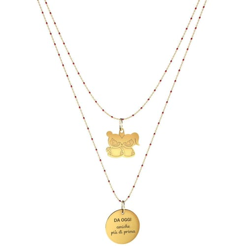 NECKLACE 10 BUONI PROPOSITI SWEET - N9843/R