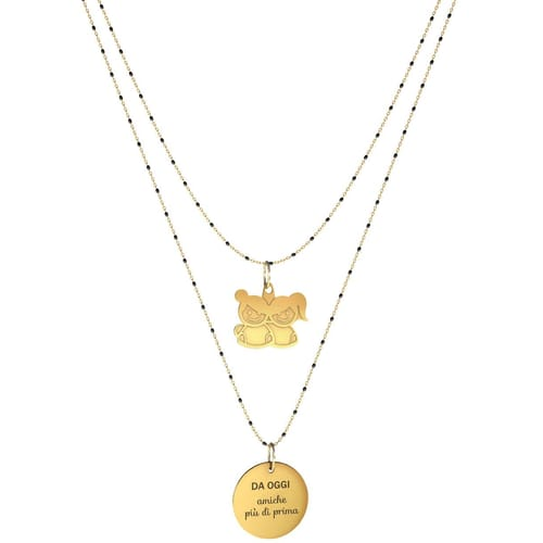 NECKLACE 10 BUONI PROPOSITI SWEET - N9843/N