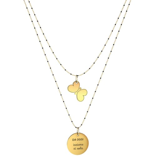 NECKLACE 10 BUONI PROPOSITI SWEET - N9842/N