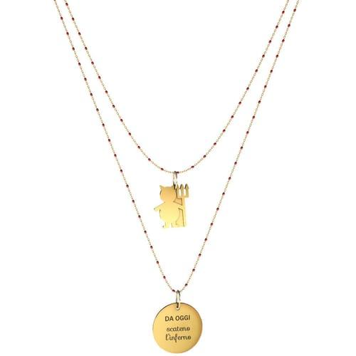 NECKLACE 10 BUONI PROPOSITI SWEET - N9841/R