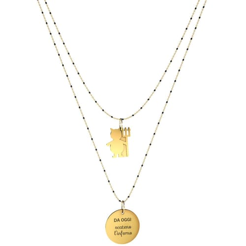 NECKLACE 10 BUONI PROPOSITI SWEET - N9841/N