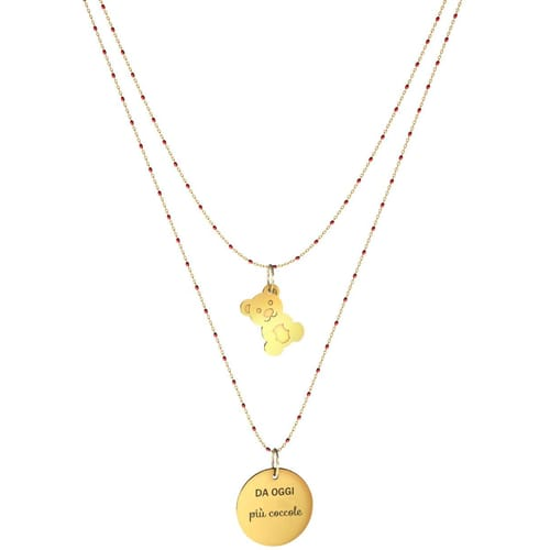 NECKLACE 10 BUONI PROPOSITI SWEET - N9840/R