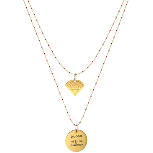 NECKLACE 10 BUONI PROPOSITI SWEET - N9839/R
