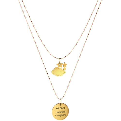NECKLACE 10 BUONI PROPOSITI SWEET - N9838/R