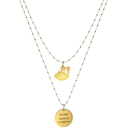 NECKLACE 10 BUONI PROPOSITI SWEET - N9838/N