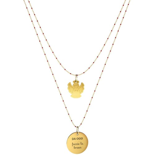 NECKLACE 10 BUONI PROPOSITI SWEET - N9837/R