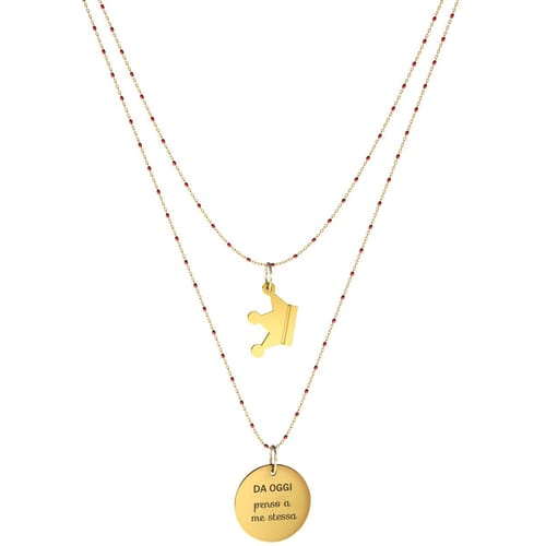NECKLACE 10 BUONI PROPOSITI SWEET - N9836/R