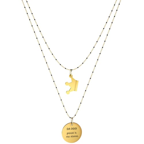 NECKLACE 10 BUONI PROPOSITI SWEET - N9836/N