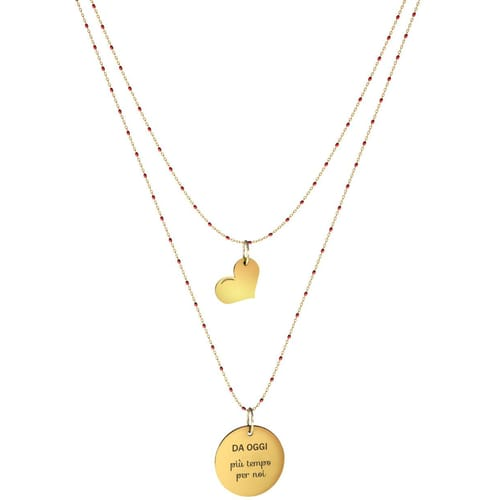 NECKLACE 10 BUONI PROPOSITI SWEET - N9835/R