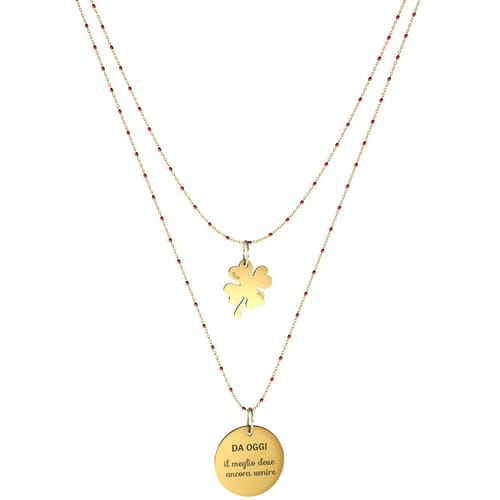 NECKLACE 10 BUONI PROPOSITI SWEET - N9834/R