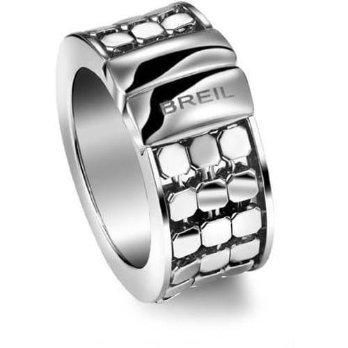 ANELLO BREIL STEEL SILK - TJ1356