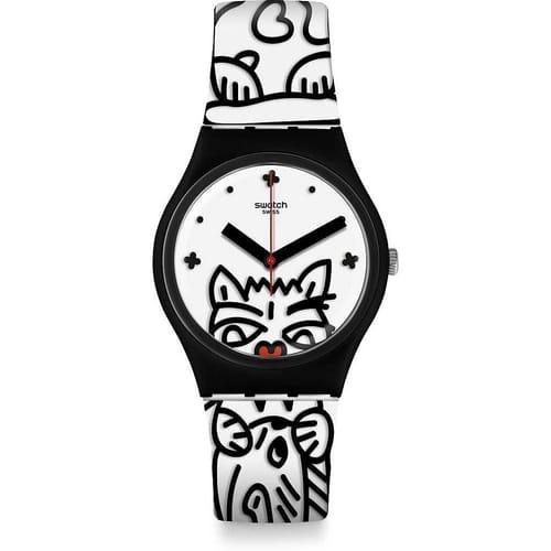 SWATCH watch I LOVE YOUR FOLK - GB322