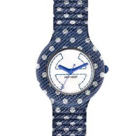 Hip Hop Watches Denim Pois - HWU0403