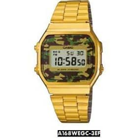 CASIO watch VINTAGE - A168WEGC-3EF