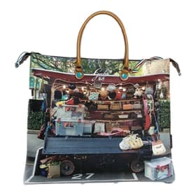 Handbag Gabs Multicolor printed Synthetic leather