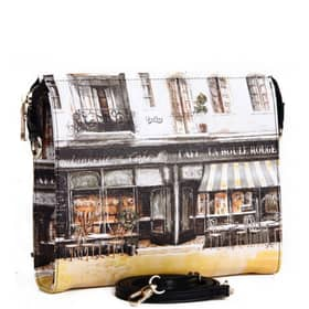 Handbag You bag Multicolor printed PVC