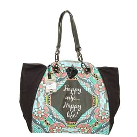 Borsa Pandorine Shopping bag Grigio Antracite